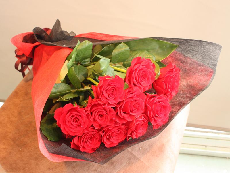 赤バラの花束 BQ-025